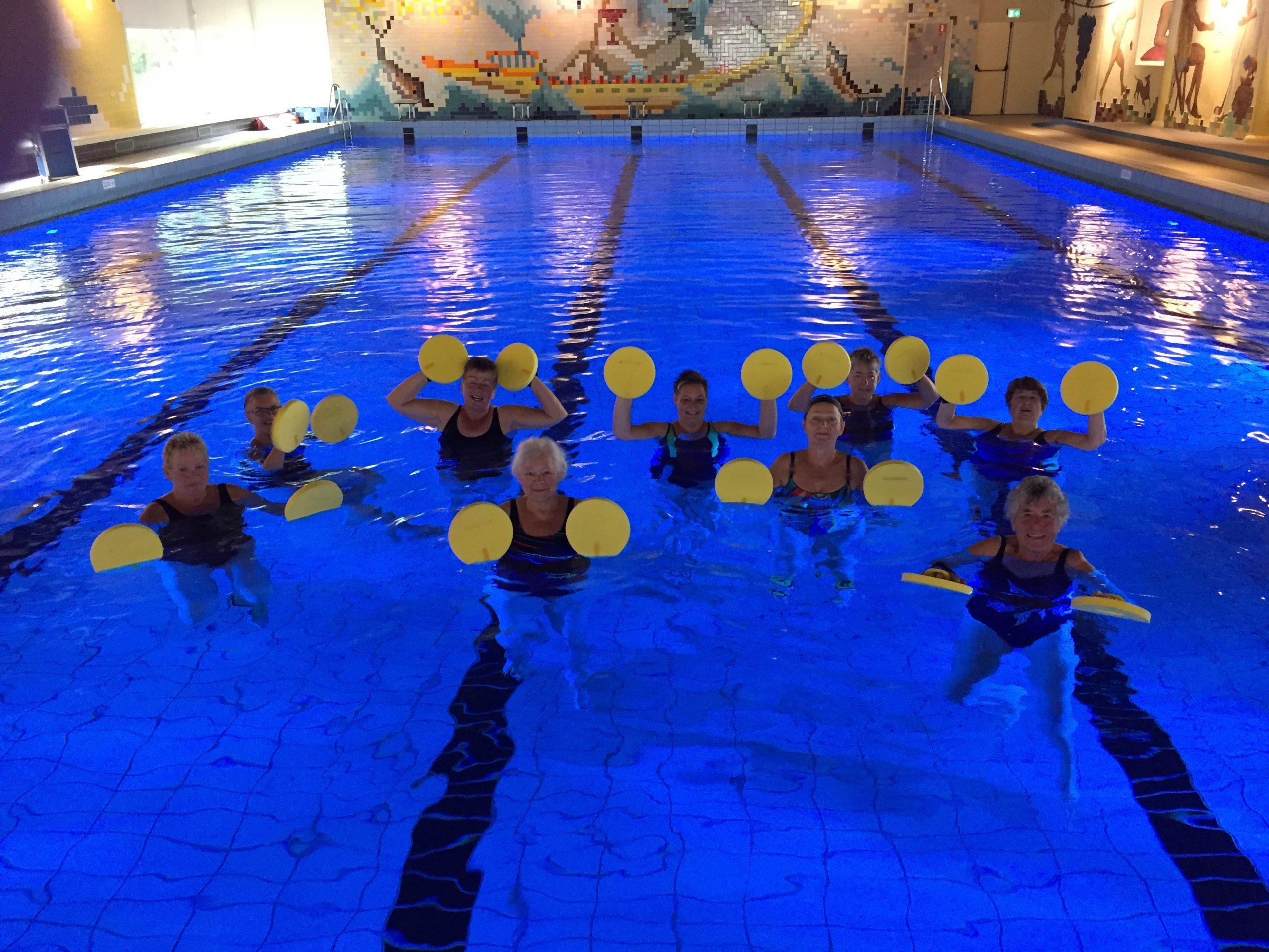 Zwembad de Hullen aquajoggen