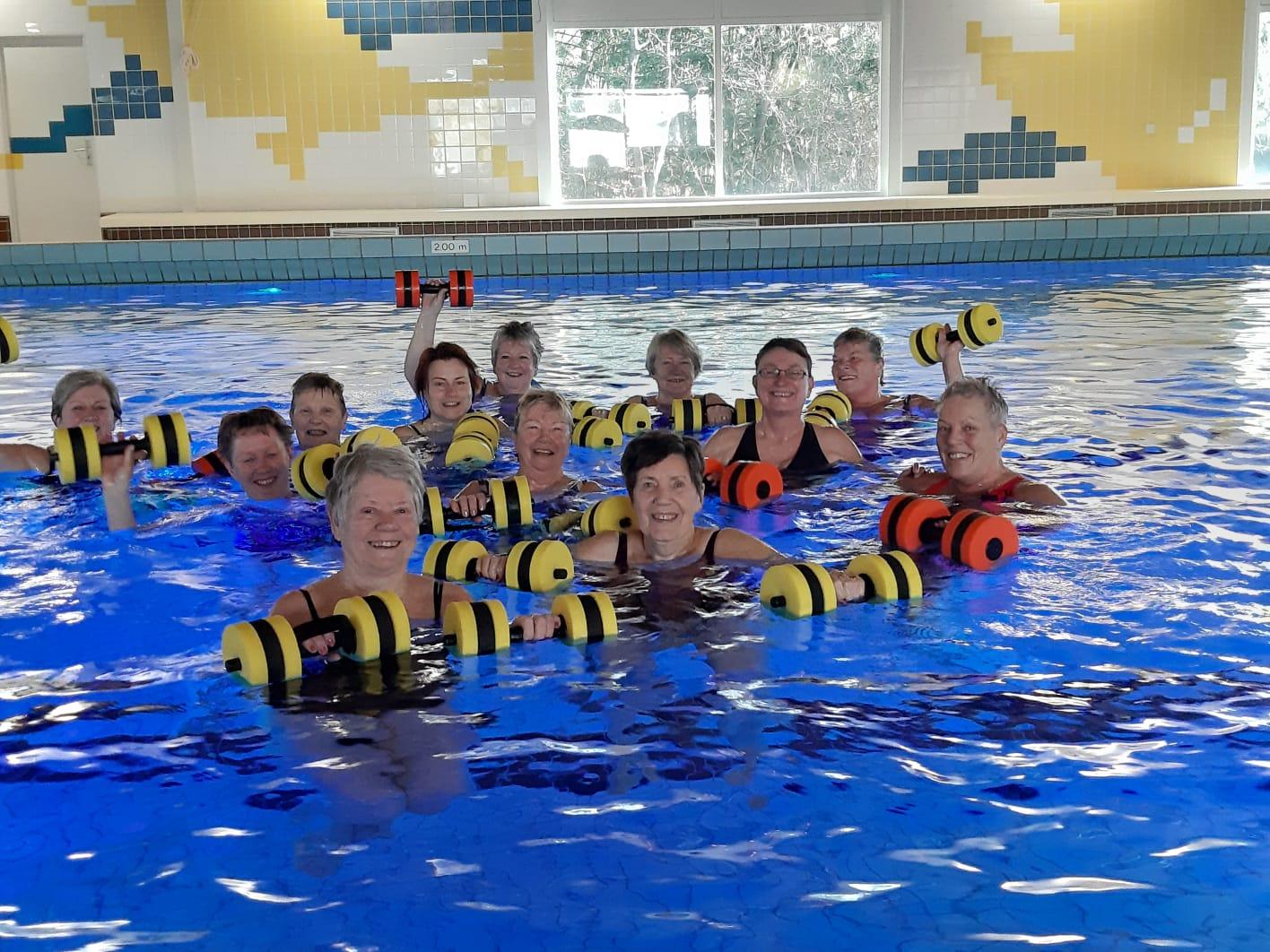 Aquajoggen zwembad de Hullen
